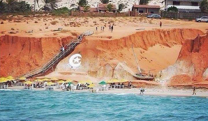 Melhores Destinos Nordeste Canoa Quebrada Ceará