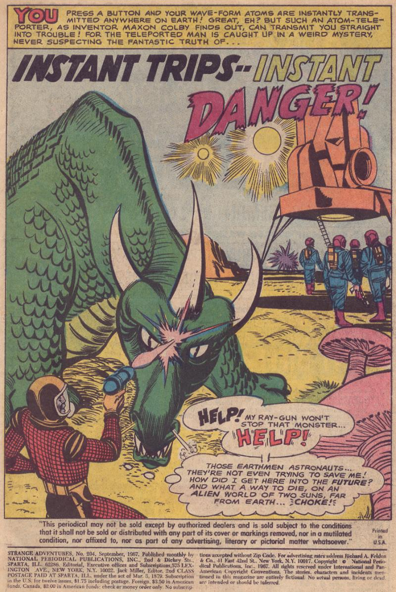 Strange Adventures (1950) issue 204 - Page 3