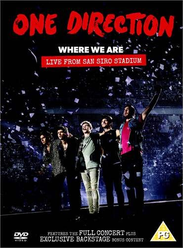 One Direction: Where We Are – Live from San Siro Stadium