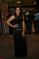 Wamiqa Gabbi in a sleeveless Black Designer Transparent Gown at 64th Jio Filmfare Awards South ~  Exclusive 100.JPG