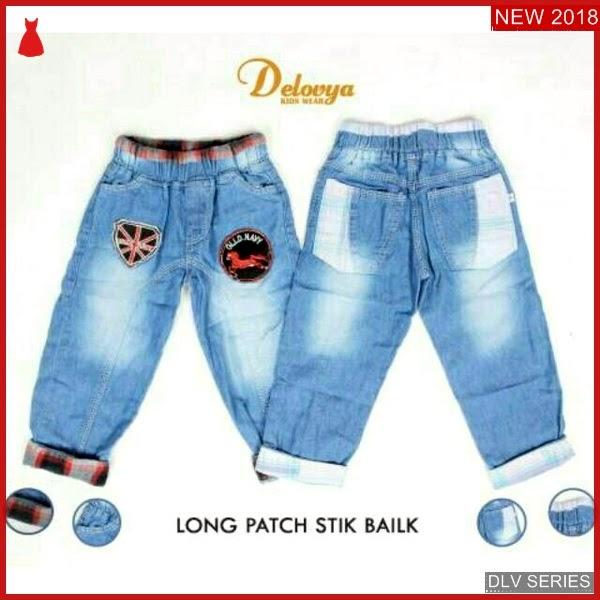 DLV24L36 Long Jeans Anak Basic Celana Panjang Balita Murah BMG
