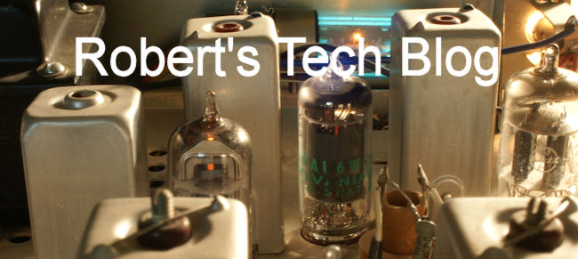 Robert's Tech blog.