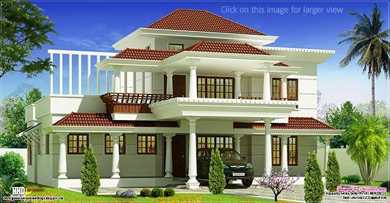 traditional mix Kerala villa