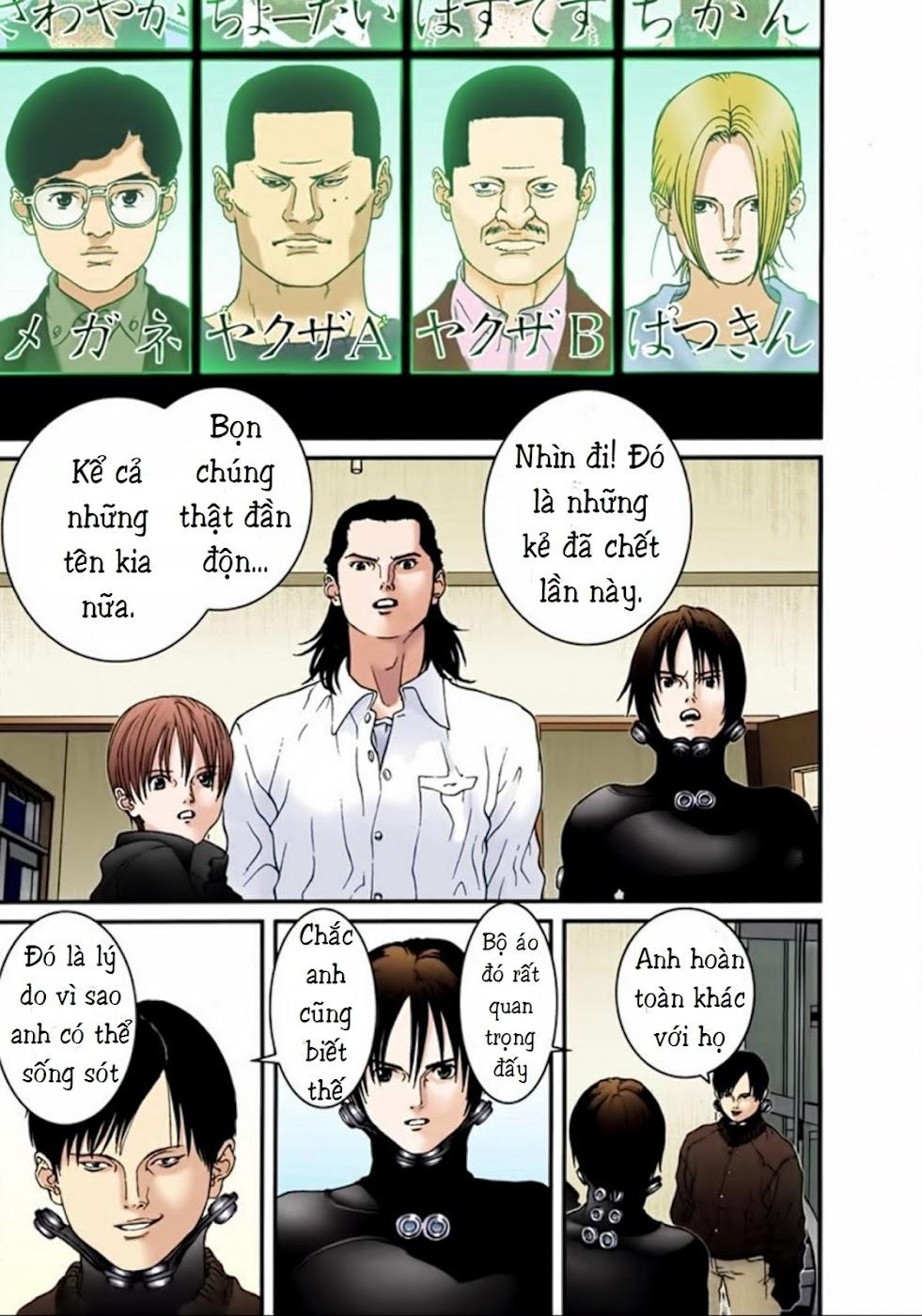 Gantz Chap 20: Số điểm trang 17