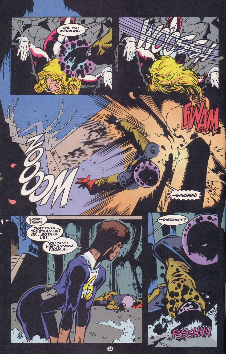 Legion of Super-Heroes (1989) 63 Page 21