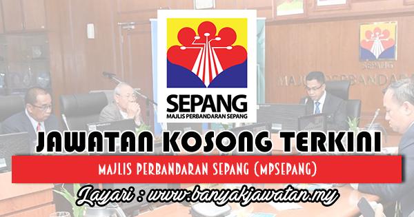 Jawatan Kosong 2018 di Majlis Perbandaran Sepang (MPSepang)