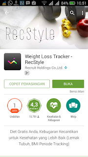Weight Loss Traker - RecStyle