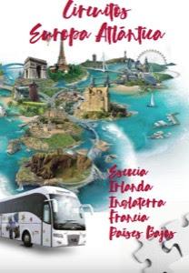 Catálogo de viajes Circuitos por Europa Atlántica