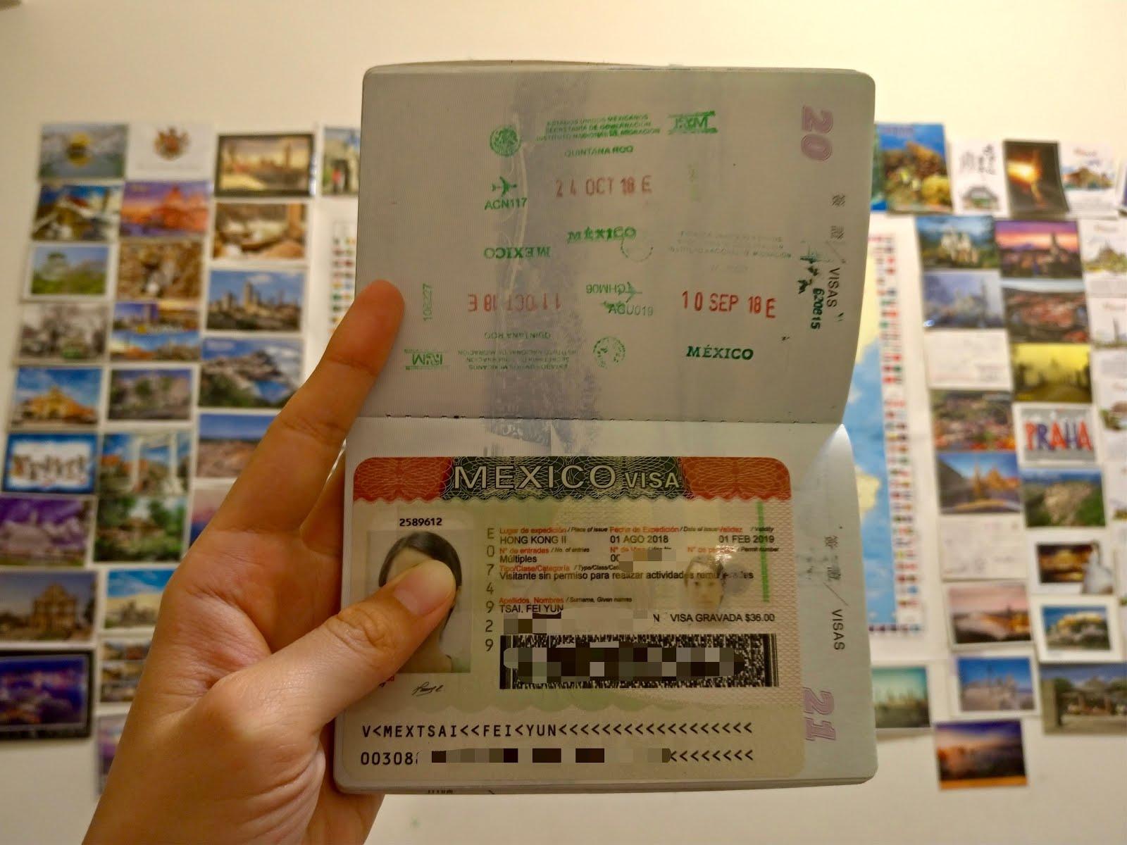 如何一次通過墨西哥簽證? How to Apply for Mexico Tourist Visa? - Farah is on the Road