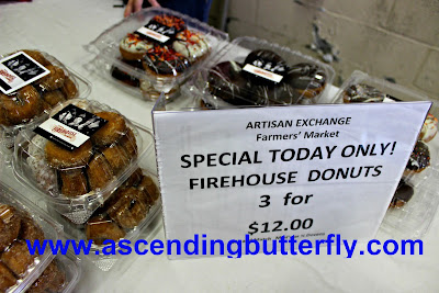 Firehouse Donuts, The Artisan Exchange, Indoor Farmers Market, BrandyWine Valley, #BVFoodie