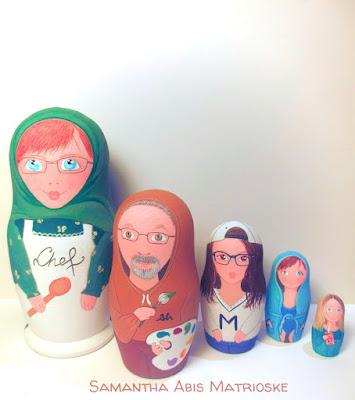 Matrioske Family personalizzata