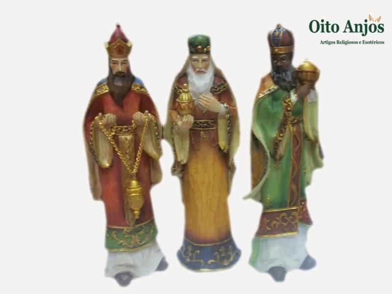 Imagem Três Reis Magos | Oito Anjos Artigos Religiosos e Loja Esotérica