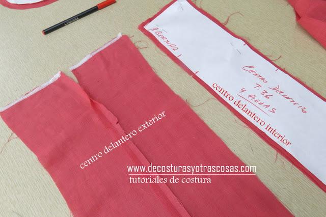 abrir costura con la plancha en las telas dobles