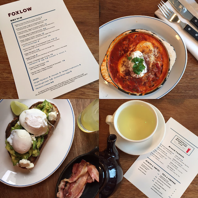 foxlow brunch clerkenwell