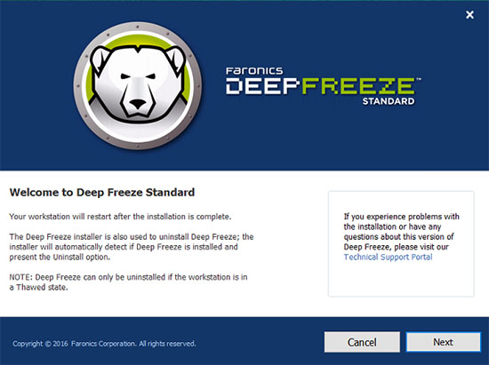 Deep Freeze Standard 8.38.020.4676 Full Version
