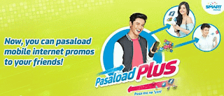 Smart PasaData Share Internet Data Promo via Pasaload Plus