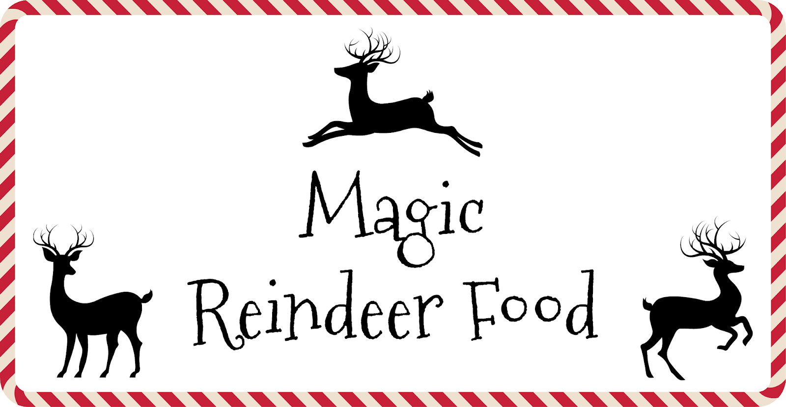 photograph about Reindeer Food Printable identify How toward Generate Reindeer Food items As well as Cost-free Printable - Nanny in direction of Mommy