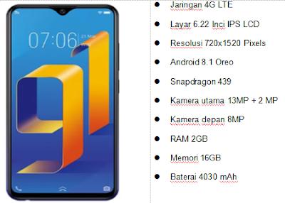 6 HP Android Baterai Besar 4000 sampai 5000 mAh Dijamin Tahan Lama