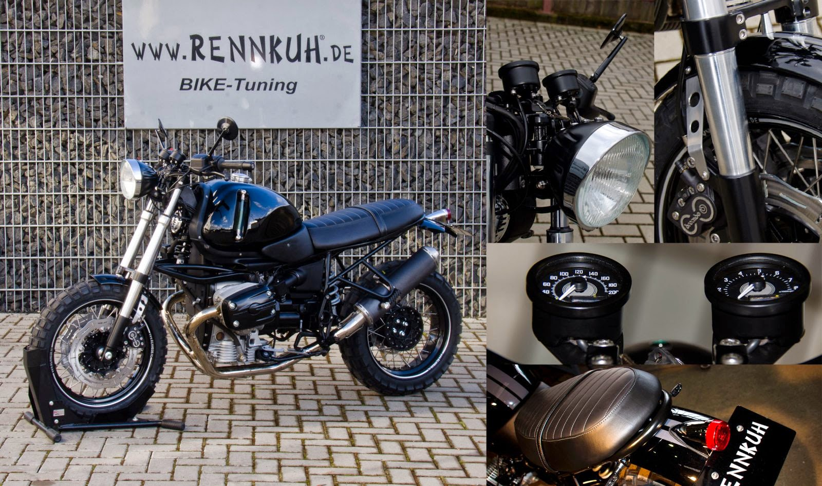 Racing Caf U00e8  Bmw R 1150 Gs Scrambler By Rennkuh