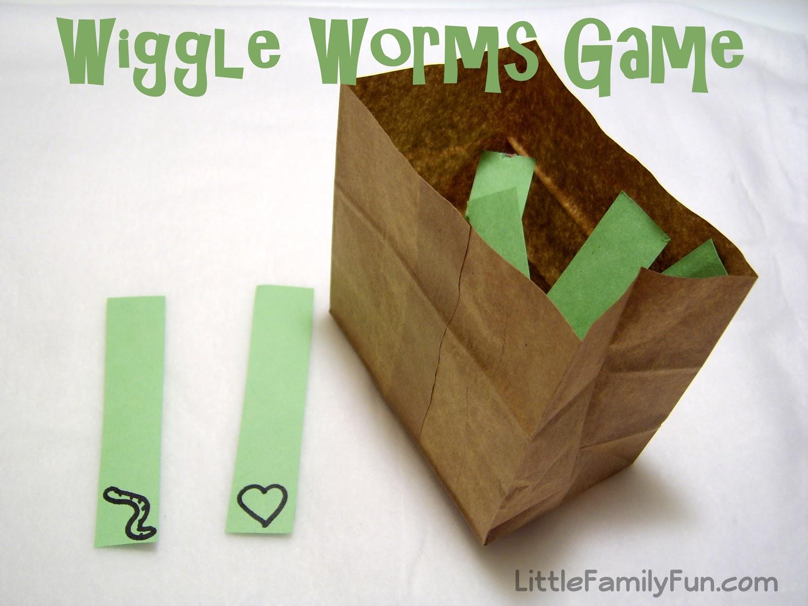 Little Family Fun Wiggle Worms