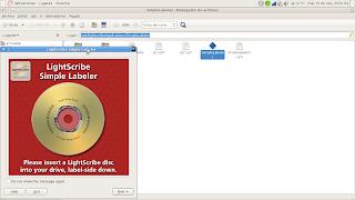 Programas de LightScribe para Debian y derivados, y para RPM (x86 y x64) 2