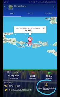 TERJADI!! Gempa 7 Sr berpotensi TSUNAMI Menimpa Denpasar Bali