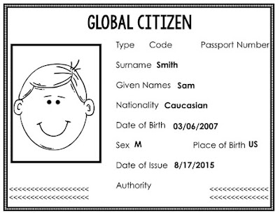 New and updated IB Passport to Global Citizenship!This is a super fun tool for PYP students in the IB classroom. Use it to reinforce all your Transdisciplinary Themes!