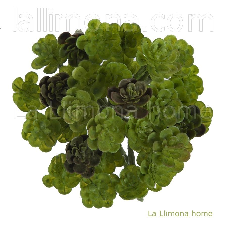 La llimona plantas crasas artificiales mini echeveria - Plantas artificiales ...