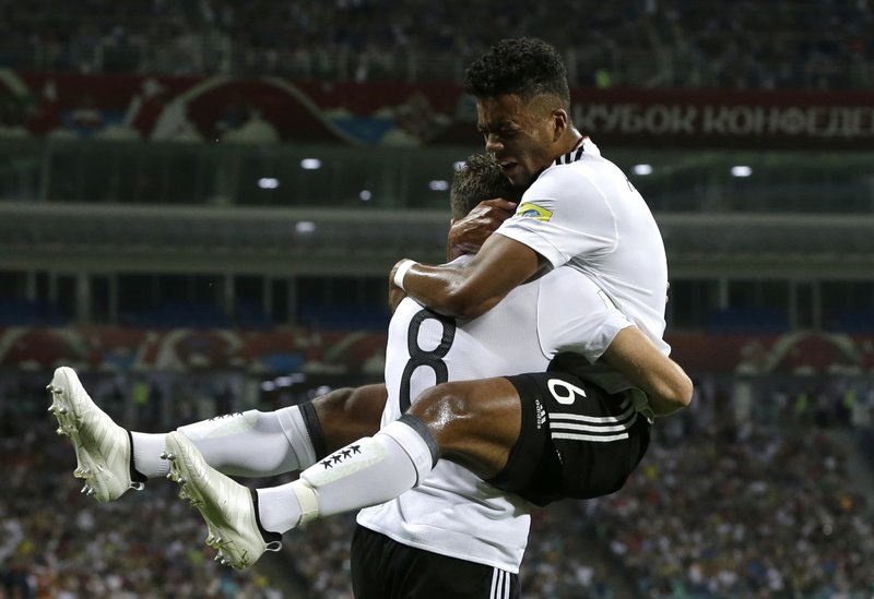 Germany Defeat Mexico 4-1 to reach Confederations Cup final