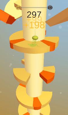لعبة Helix Jump مكركة، لعبة Helix Jump مود فري شوبينغ