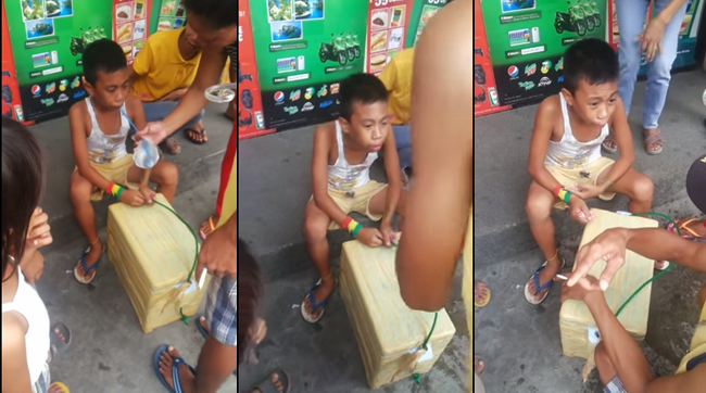 The Pandesal Boy Vendor Seems Making Up The Story According to the Police