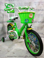 16 Inci Erminio 1622 Jennife Rest Kids Bike