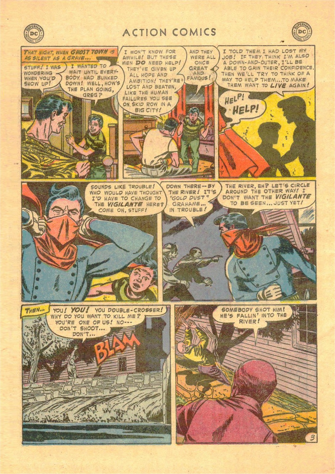 Read online Action Comics (1938) comic -  Issue #181 - 35
