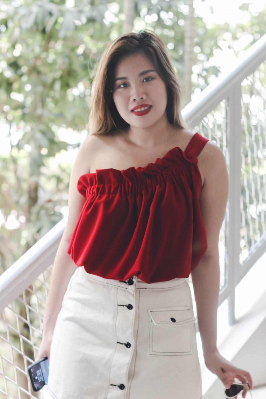 singapore valentines day what to wear chinese new year 2018 street style red photography look book fashion outfit