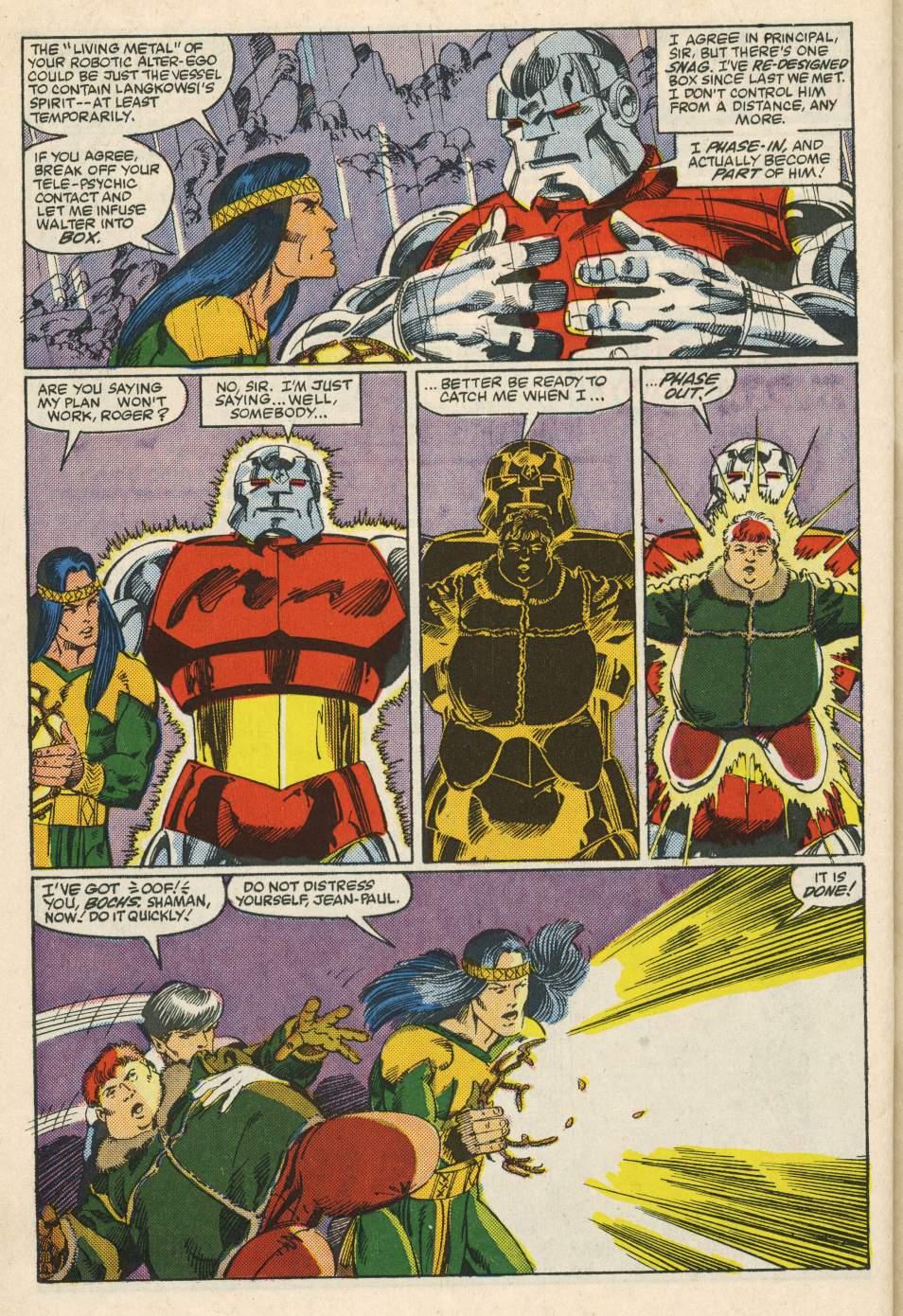Read online Alpha Flight (1983) comic -  Issue #24 - 34