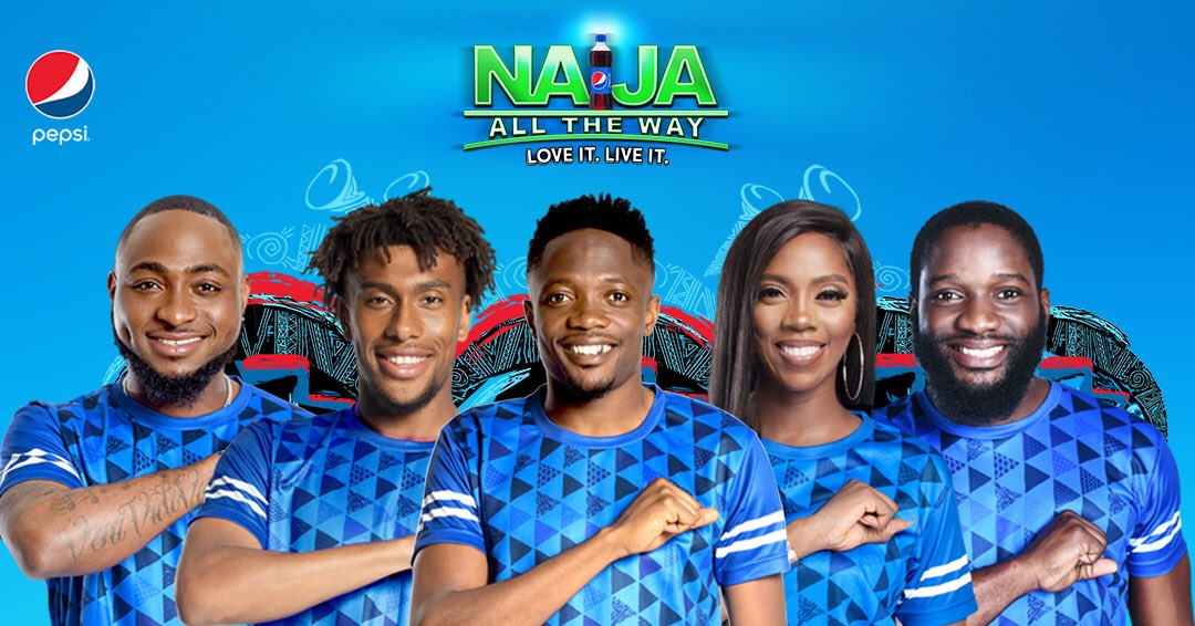 Pepsi Naija All The Way Campaign Creative