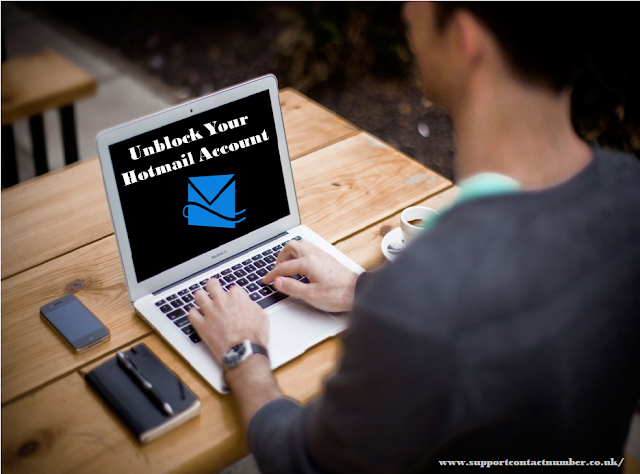 how to get a hotmail account unblocked