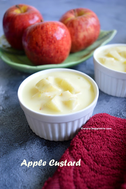 Apple Custard
