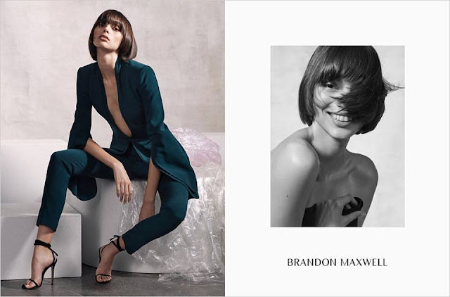 Brandon Maxwell Fall Winter 2017 Ad Campaign