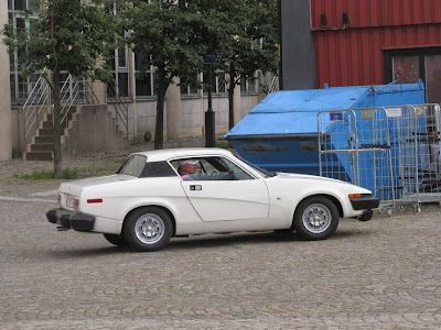 Triumph TR7, you can see why the design divided opinion