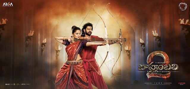 Baahubali 2 Telugu Posters , Prabhas and anushka