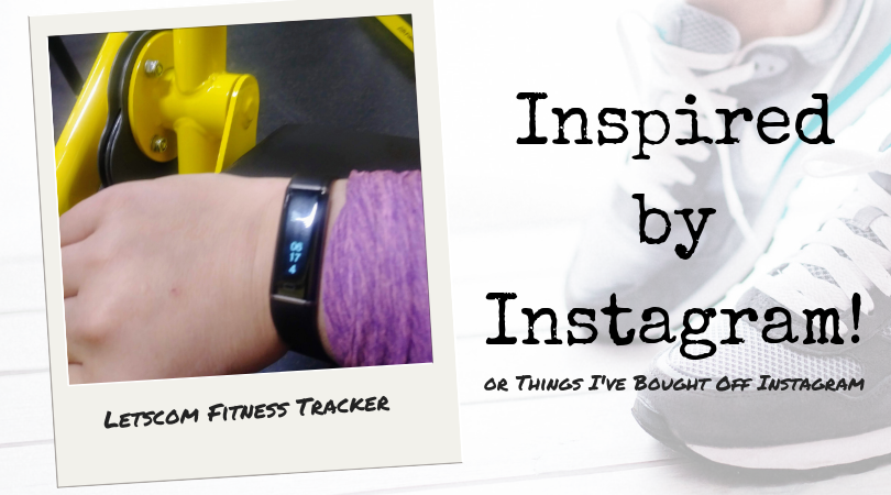 Inspired by Instagram: LETSCOM Fitness Tracker