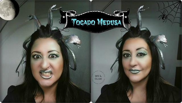 Diy tocado de Medusa