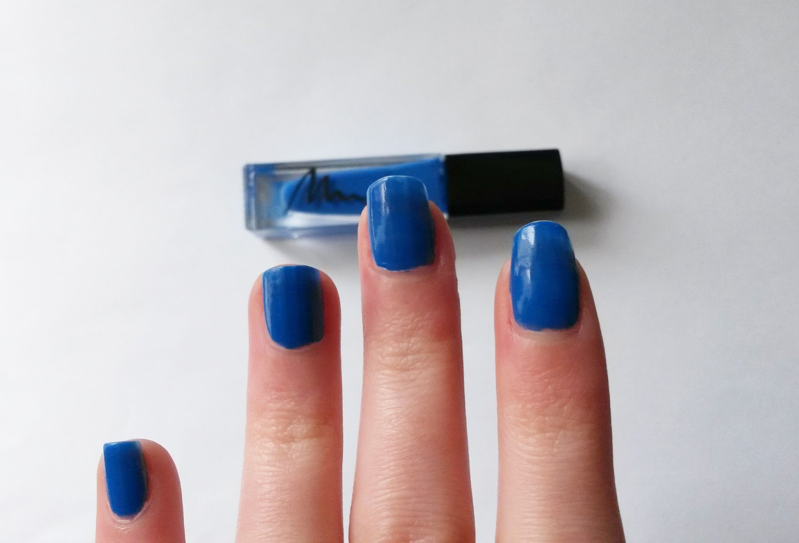 "Le vernis ""bleu chavirant"" Marionnaud"