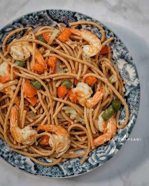 Menu Sahur Sehat - Wholemeal Spaghetti