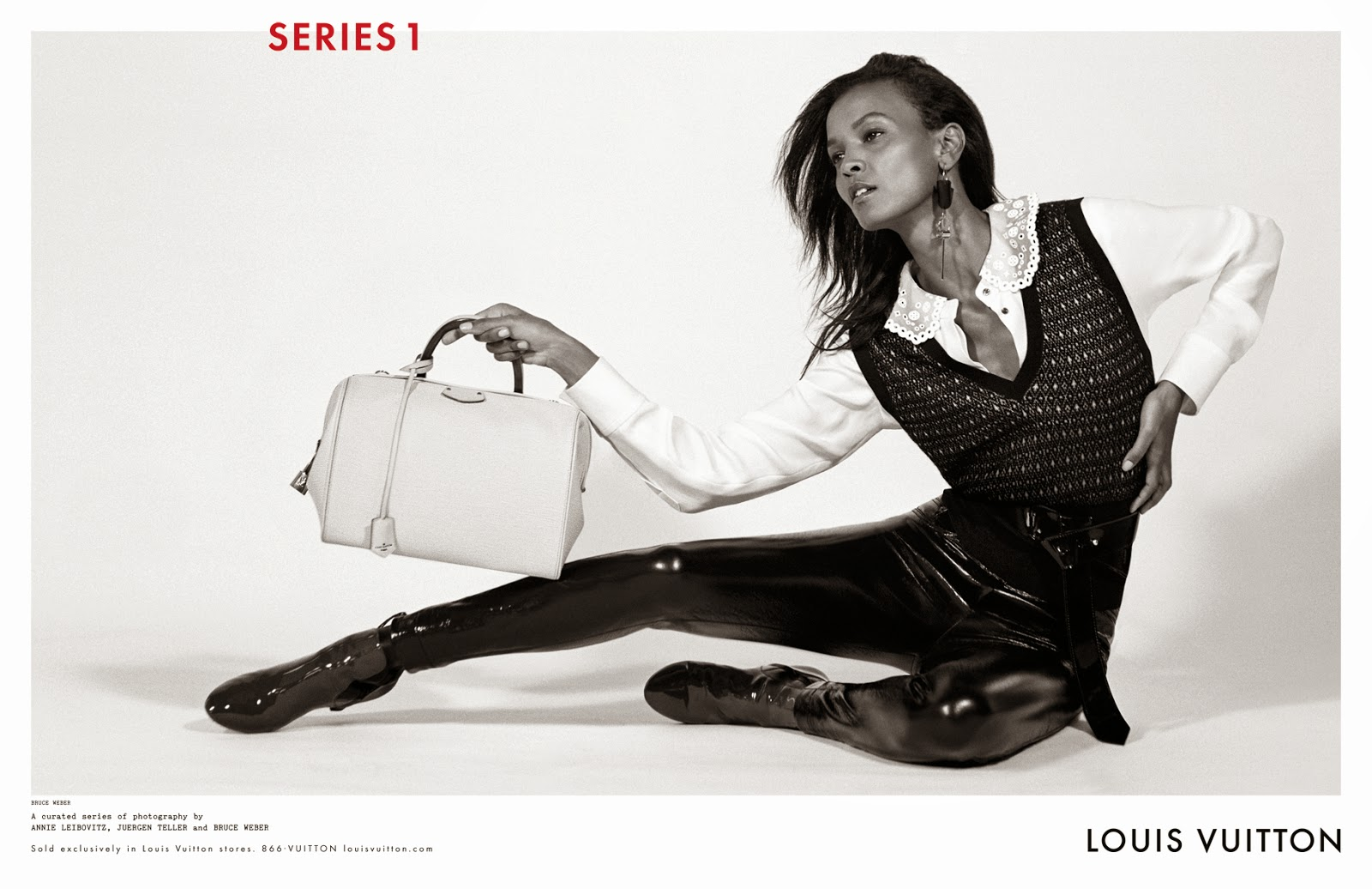 Nicolas Ghesquière's Debut Louis Vuitton Ad Campaign For FW14