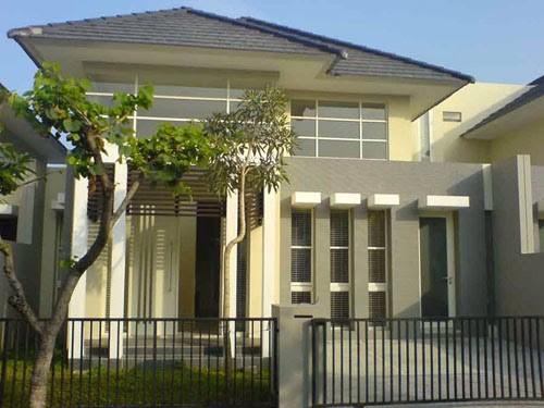 model rumah tingkat sederhana 4