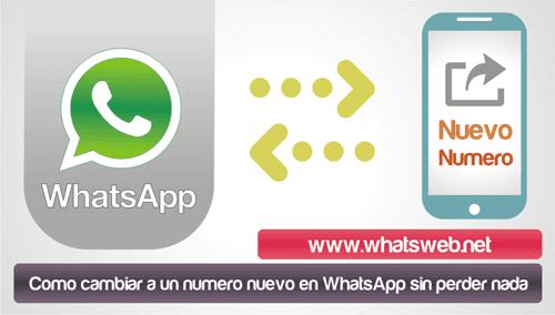 Como cambiar a un numero nuevo en WhatsApp sin perder nada
