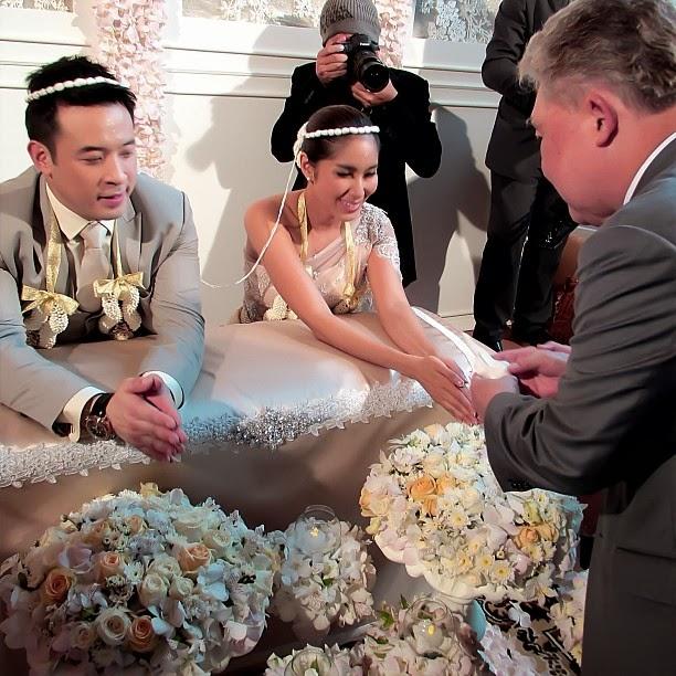 งานแต่ง เบนซ์ พรชิตา - มิค บรมวุฒิ