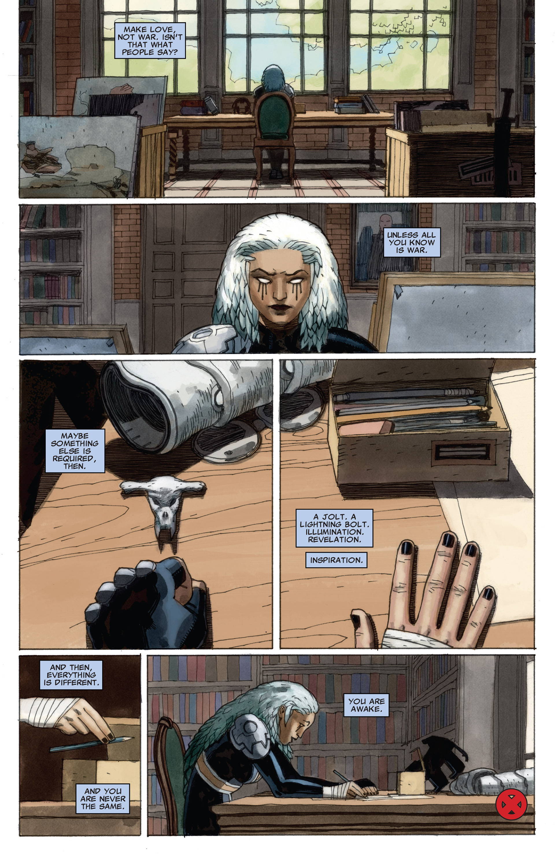 Read online Astonishing X-Men (2004) comic -  Issue #58 - 22